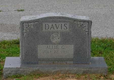 DAVIS, ALLIE GENEVA - Lawrence County, Arkansas | ALLIE GENEVA DAVIS - Arkansas Gravestone Photos