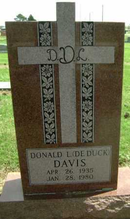 "DAVIS, DONALD L. ""DE DUCK"" - Lawrence County, Arkansas 