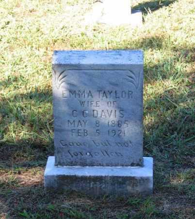 DAVIS, EMMA E. - Lawrence County, Arkansas | EMMA E. DAVIS - Arkansas Gravestone Photos