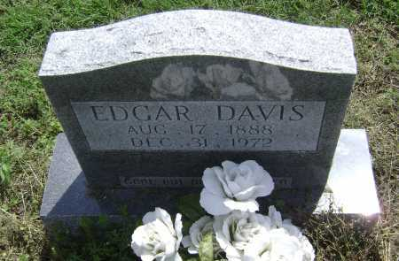 DAVIS, EDGAR FRANKLIN - Lawrence County, Arkansas | EDGAR FRANKLIN DAVIS - Arkansas Gravestone Photos