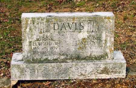 DAVIS, ELWOOD WESLEY - Lawrence County, Arkansas | ELWOOD WESLEY DAVIS - Arkansas Gravestone Photos