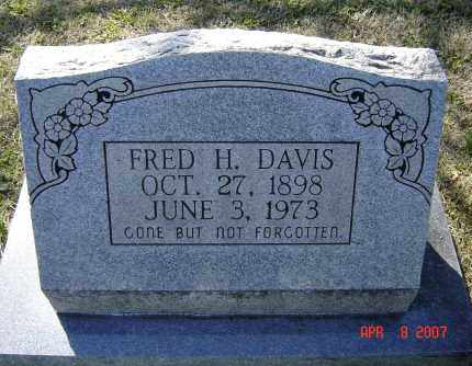 DAVIS, FRED HILL - Lawrence County, Arkansas | FRED HILL DAVIS - Arkansas Gravestone Photos