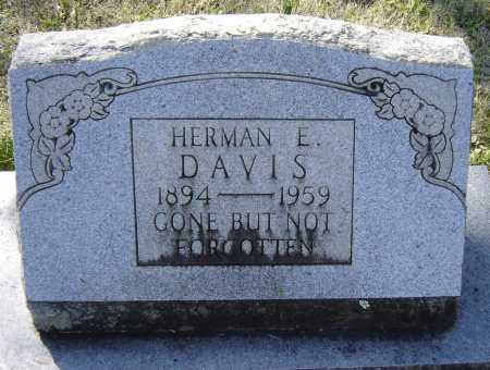 DAVIS, HERMAN E. - Lawrence County, Arkansas | HERMAN E. DAVIS - Arkansas Gravestone Photos