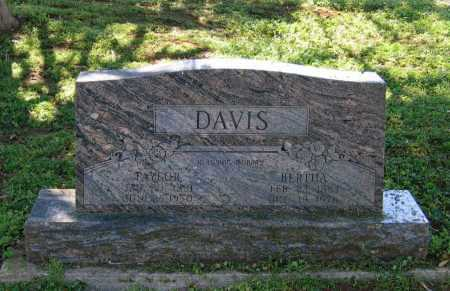 DAVIS, BERTHA LILLY - Lawrence County, Arkansas | BERTHA LILLY DAVIS - Arkansas Gravestone Photos