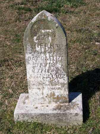 DAVIS, INFANT SON - Lawrence County, Arkansas | INFANT SON DAVIS - Arkansas Gravestone Photos