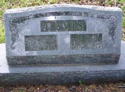 DAVIS, BETHEL - Lawrence County, Arkansas | BETHEL DAVIS - Arkansas Gravestone Photos