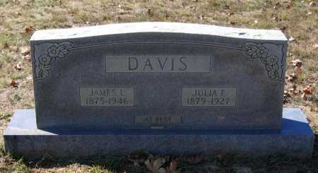 HACKER DAVIS, JULIA E. - Lawrence County, Arkansas | JULIA E. HACKER DAVIS - Arkansas Gravestone Photos