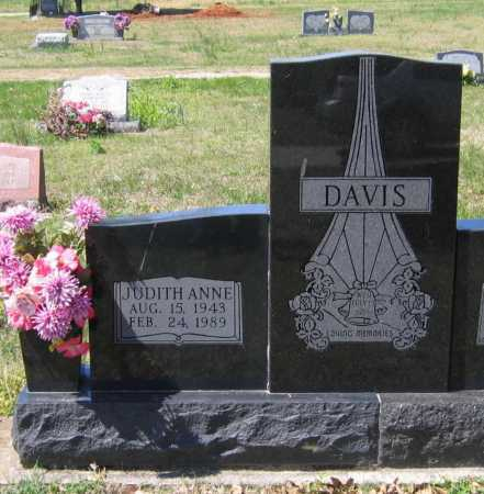 DAVIS, JUDITH ANNE - Lawrence County, Arkansas | JUDITH ANNE DAVIS - Arkansas Gravestone Photos