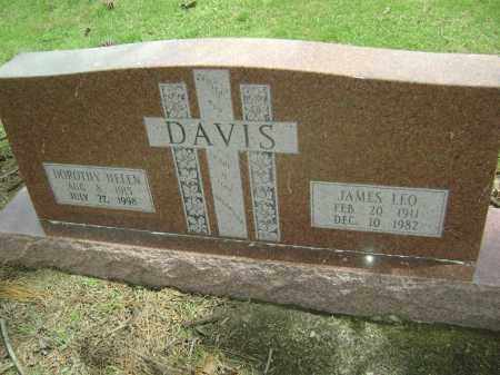 DAVIS, JAMES LEO - Lawrence County, Arkansas | JAMES LEO DAVIS - Arkansas Gravestone Photos