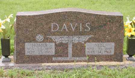 DAVIS, JOHN HOMER - Lawrence County, Arkansas | JOHN HOMER DAVIS - Arkansas Gravestone Photos