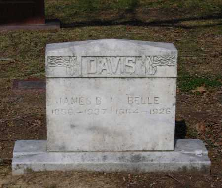 CRAVENS DAVIS, THOMAS BELLE - Lawrence County, Arkansas | THOMAS BELLE CRAVENS DAVIS - Arkansas Gravestone Photos