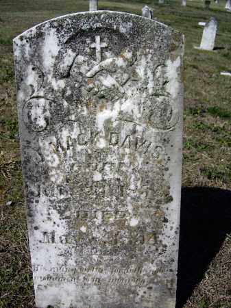 DAVIS, JAMES MACK - Lawrence County, Arkansas | JAMES MACK DAVIS - Arkansas Gravestone Photos