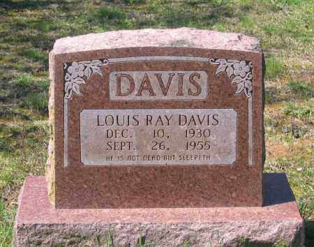 DAVIS, LOUIS RAY - Lawrence County, Arkansas | LOUIS RAY DAVIS - Arkansas Gravestone Photos
