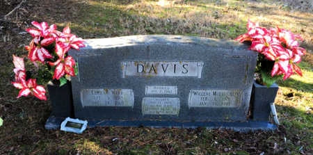 DAVIS, LEHMAN WEAR - Lawrence County, Arkansas | LEHMAN WEAR DAVIS - Arkansas Gravestone Photos