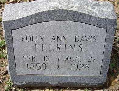 "KING DAVIS, MARY ANN ""POLLY"" - Lawrence County, Arkansas 
