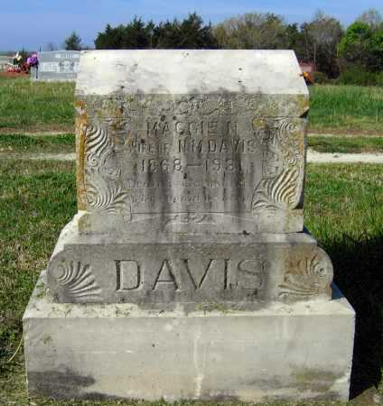 "DAVIS, MARGARET N. ""MAGGIE"" - Lawrence County, Arkansas 