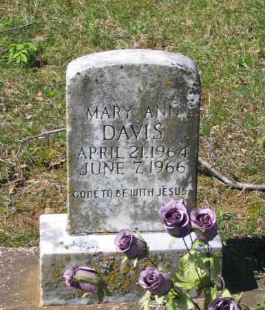 DAVIS, MARY ANN - Lawrence County, Arkansas | MARY ANN DAVIS - Arkansas Gravestone Photos