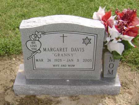 "DAVIS, MARGARET ""GRANNY"" - Lawrence County, Arkansas 