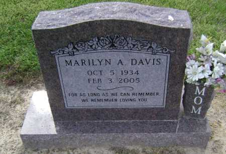 DAVIS, MARILYN ANN - Lawrence County, Arkansas | MARILYN ANN DAVIS - Arkansas Gravestone Photos
