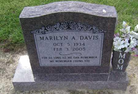 LAMMERS DAVIS, MARILYN A. - Lawrence County, Arkansas | MARILYN A. LAMMERS DAVIS - Arkansas Gravestone Photos