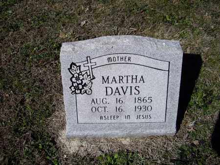 LAWSON DAVIS, MARTHA ANN - Lawrence County, Arkansas | MARTHA ANN LAWSON DAVIS - Arkansas Gravestone Photos