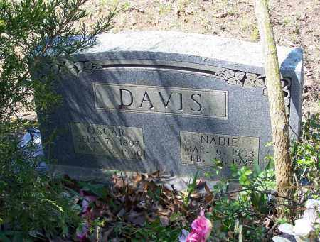 DAVIS, NADIE - Lawrence County, Arkansas | NADIE DAVIS - Arkansas Gravestone Photos