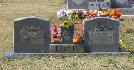 DAVIS, MANERVIA ELIZABETH - Lawrence County, Arkansas | MANERVIA ELIZABETH DAVIS - Arkansas Gravestone Photos