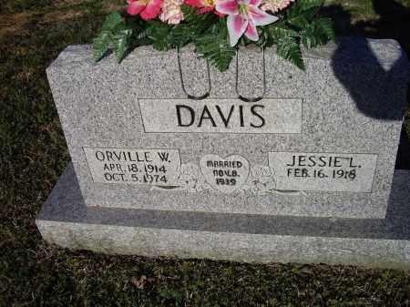 DAVIS, ORVILLE W. - Lawrence County, Arkansas | ORVILLE W. DAVIS - Arkansas Gravestone Photos