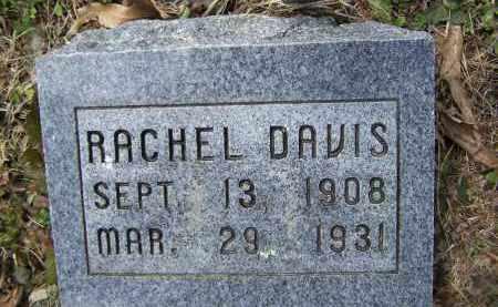 DAVIS, RACHEL - Lawrence County, Arkansas | RACHEL DAVIS - Arkansas Gravestone Photos