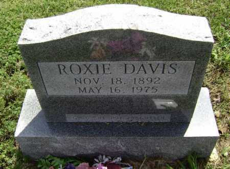 DAVIS, ROXIE NAOMI - Lawrence County, Arkansas | ROXIE NAOMI DAVIS - Arkansas Gravestone Photos