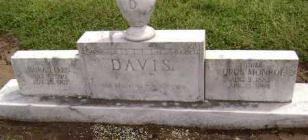 DAVIS, RUFUS MONROE - Lawrence County, Arkansas | RUFUS MONROE DAVIS - Arkansas Gravestone Photos