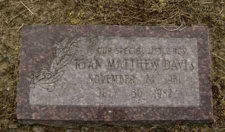 DAVIS, RYAN MATTHEW - Lawrence County, Arkansas | RYAN MATTHEW DAVIS - Arkansas Gravestone Photos