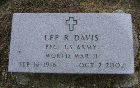 DAVIS (VETERAN WWII), LEE ROY - Lawrence County, Arkansas | LEE ROY DAVIS (VETERAN WWII) - Arkansas Gravestone Photos