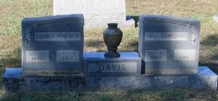 HACKER DAVIS, MARGARET ELVIRA - Lawrence County, Arkansas | MARGARET ELVIRA HACKER DAVIS - Arkansas Gravestone Photos
