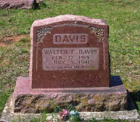 DAVIS, WALTER EUGENE - Lawrence County, Arkansas | WALTER EUGENE DAVIS - Arkansas Gravestone Photos