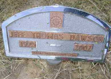 DAWSON, JEFF THOMAS - Lawrence County, Arkansas | JEFF THOMAS DAWSON - Arkansas Gravestone Photos