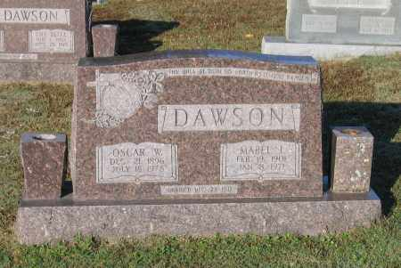 DAWSON, OSCAR WARREN - Lawrence County, Arkansas | OSCAR WARREN DAWSON - Arkansas Gravestone Photos