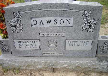 "DAWSON, THOMAS ALVIN ""AL"" - Lawrence County, Arkansas 