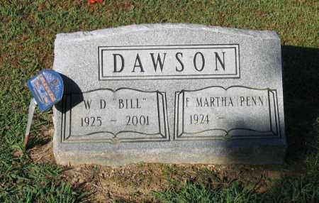"DAWSON, WILLIAM DAVID ""BILL"" - Lawrence County, Arkansas 