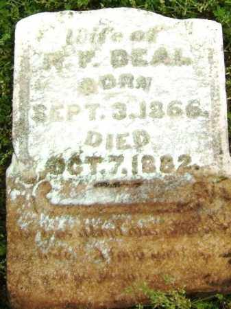 TATUM DEAL, ARABELLA - Lawrence County, Arkansas | ARABELLA TATUM DEAL - Arkansas Gravestone Photos