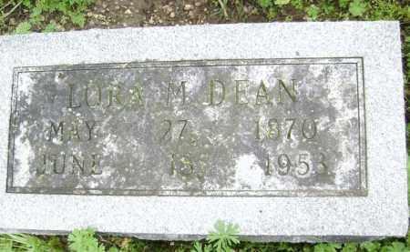 DEAN, LORA M. - Lawrence County, Arkansas | LORA M. DEAN - Arkansas Gravestone Photos