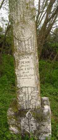 DEAN, WILLIAM A. - Lawrence County, Arkansas | WILLIAM A. DEAN - Arkansas Gravestone Photos