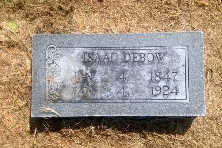 DEBOW, ISAAC - Lawrence County, Arkansas | ISAAC DEBOW - Arkansas Gravestone Photos