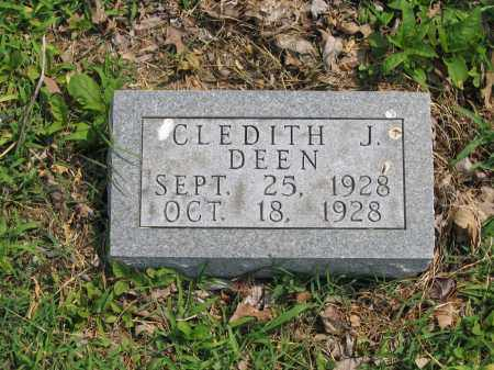 DEEN, CLEDITH J. - Lawrence County, Arkansas | CLEDITH J. DEEN - Arkansas Gravestone Photos