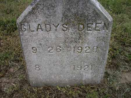 DEEN, GLADYS - Lawrence County, Arkansas | GLADYS DEEN - Arkansas Gravestone Photos