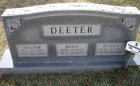 DEETER, BITHA VICY A. CLINTON ADAMS - Lawrence County, Arkansas | BITHA VICY A. CLINTON ADAMS DEETER - Arkansas Gravestone Photos