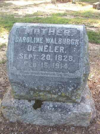 WALBURGA DENELER, CAROLINE - Lawrence County, Arkansas | CAROLINE WALBURGA DENELER - Arkansas Gravestone Photos