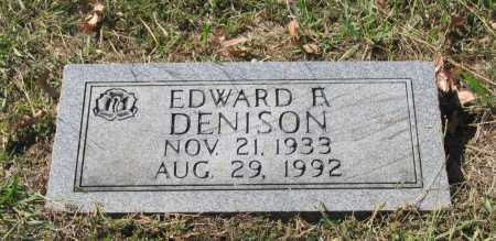 DENISON, EDWARD FLOYD - Lawrence County, Arkansas | EDWARD FLOYD DENISON - Arkansas Gravestone Photos