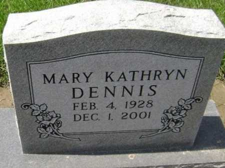 DENNIS, MARY KATHRYN - Lawrence County, Arkansas | MARY KATHRYN DENNIS - Arkansas Gravestone Photos