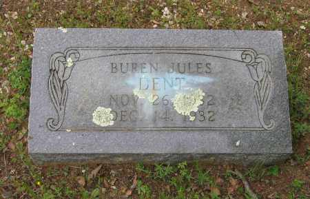 DENT, BUREN JULES - Lawrence County, Arkansas | BUREN JULES DENT - Arkansas Gravestone Photos